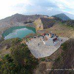kelimutu volcano lake - photo by Dincho
